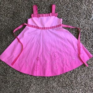 Blueberi Boulevard pink dress size 3T